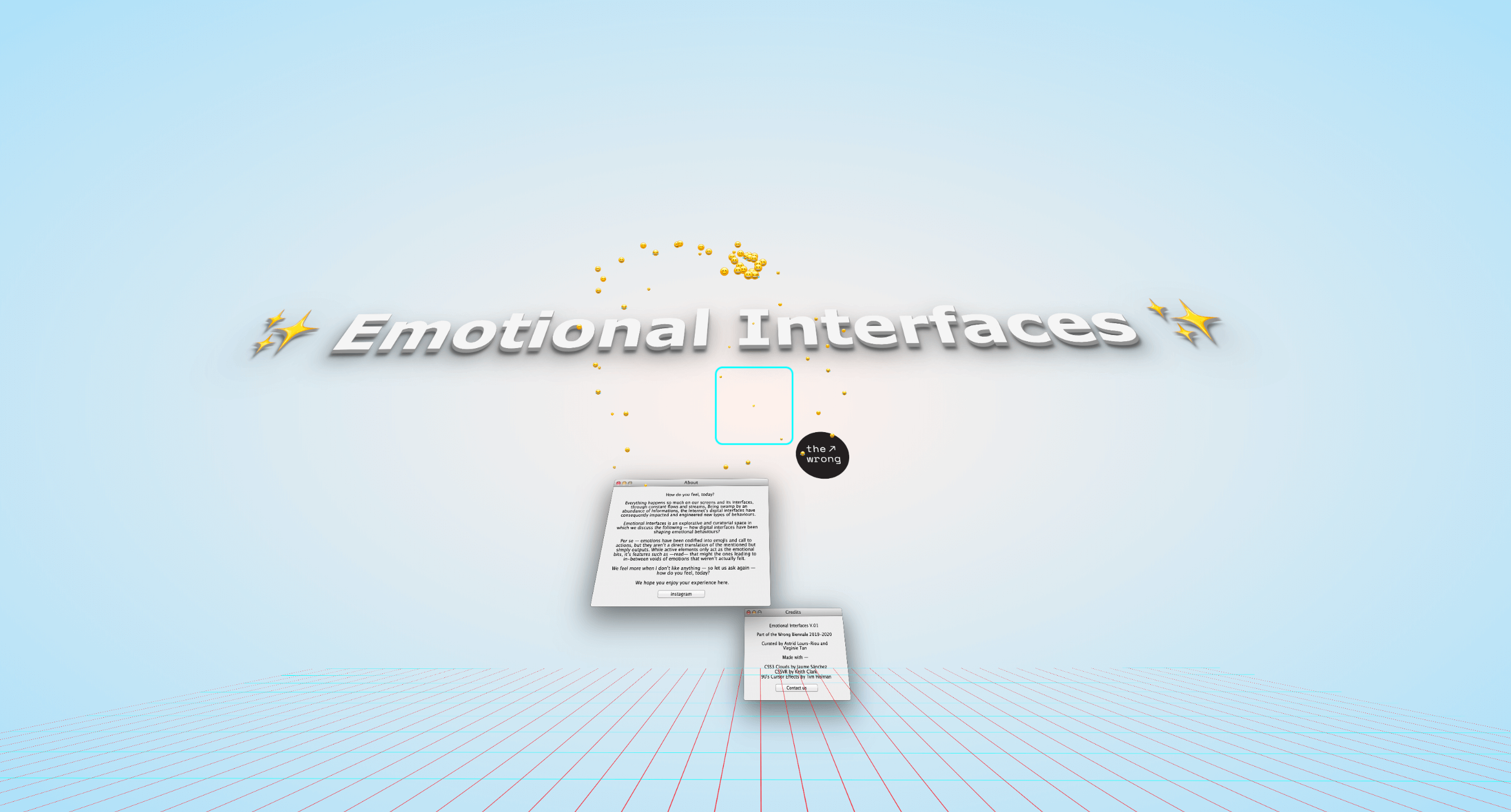 Emotional Interfaces' online exhibition